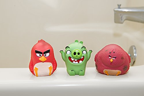 Bath Toys – Angry Birds Water Squirters – Great for Bath