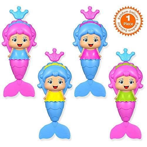 Bathing Accessories 3 Pk Baby Daisy Baby Bath Toys Turtle Wind Up Bathtub Playset Pool Swimming Tortoise